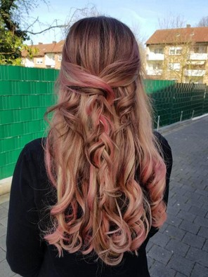 Haare Färben Strähnen Salon Neslihan Haarverlängerung Glättung